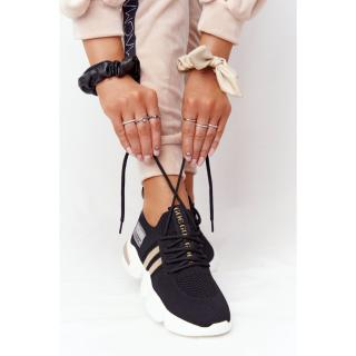 Womens Sport Sock Shoes GOE HH2N4017 Black dámské Neurčeno 38