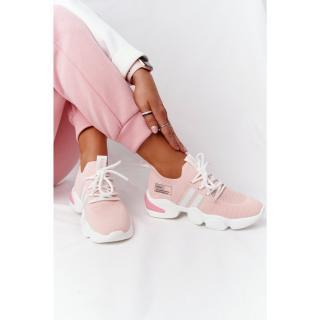 Womens Sport Sock Shoes GOE HH2N4019 Pink dámské Neurčeno 38