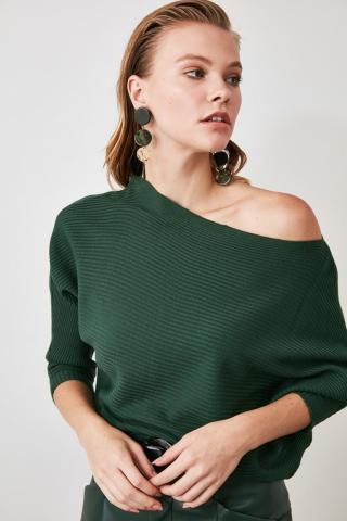 Womens sweater Trendyol Knitted dámské Green S