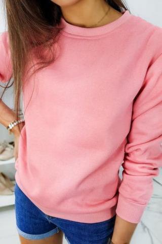 Womens sweatshirt FASHION II pink BY0322 dámské Neurčeno XL