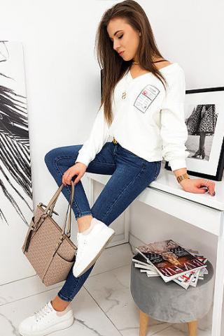 Womens sweatshirt MELLISSA ecru BY0631 dámské Neurčeno One size