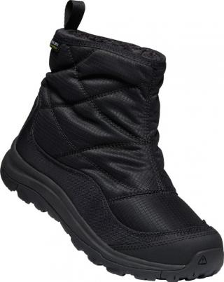Womens winter boots KEEN TERRADORA II ANKLE PULL-ON WP W dámské Black-Black 38.5