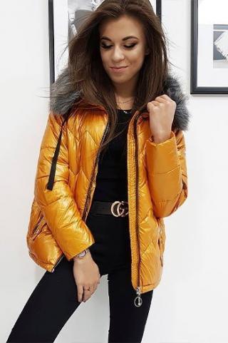 Womens winter jacket VENICE, camel TY0929 dámské Neurčeno S