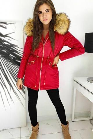 Womens winter parka ENDURO red TY1442 dámské Neurčeno L