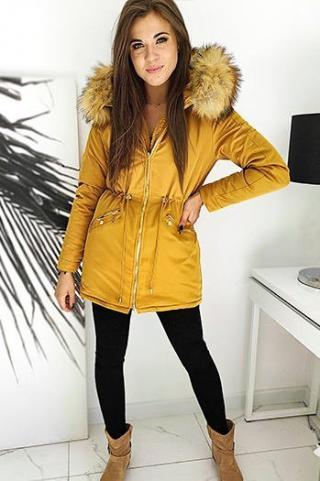 Womens winter parka ENDURO yellow TY1444 dámské Neurčeno XL