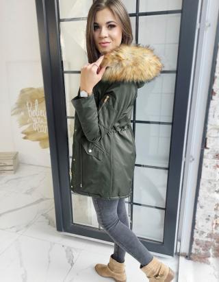 Womens winter parka jacket VISTEO green TY1458 dámské Neurčeno XL