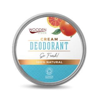 WoodenSpoon Přírodní krémový deodorant Go Fresh! Wooden Spoon 60 ml
