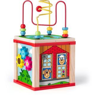 Woody Didaktická kostka malá s magickými kolečky
