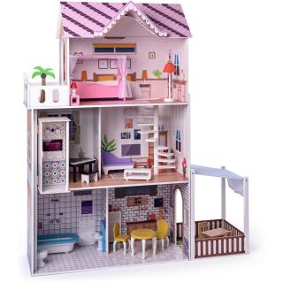 Woody Růžový domeček s výtahem Malibu dámské