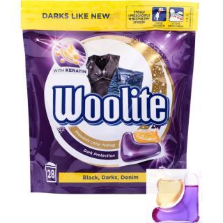 Woolite Darks, Denim & Black kapsle na praní 28 ks 28 ks