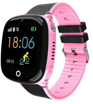 Wotchi Dětské Smartwatch HW11 s GPS a fotoaparátem - Pink - SLEVA