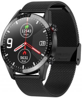 Wotchi Smartwatch WT31BST - Black Steel - SLEVA