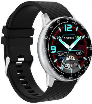 Wotchi W03S Smartwatch - Silver Black - SLEVA pánské