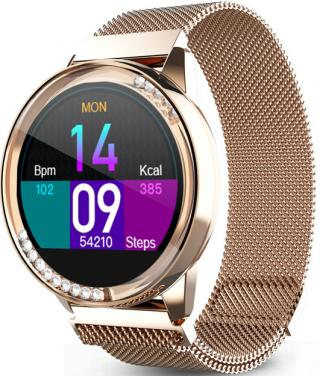 Wotchi W61R Smartwatch - Rose Gold - SLEVA I