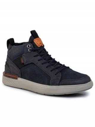 Wrangler Sneakersy Discovery Cross WM92102A Tmavomodrá pánské 45