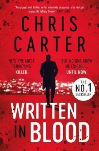 Written in Blood - Carter Chris