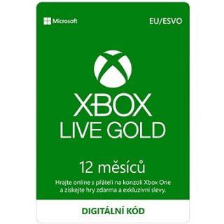 Xbox Live Gold - 12 měsíční členství