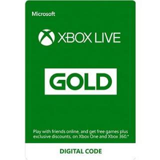 Xbox Live Gold - 6 měsíční členství
