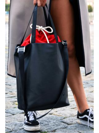 Xiss černá kabelka Simply Black/Red dámské