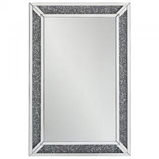 Xora NÁSTĚNNÉ ZRCADLO, 80/120/4 cm, - barvy stříbra 80/120/4