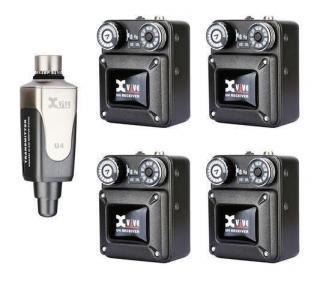XVive U4 In-Ear Monitor Wireless System Bundle R4