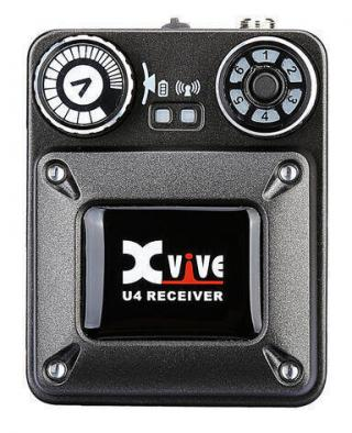 XVive U4 In-Ear Monitor Wireless System Receiver