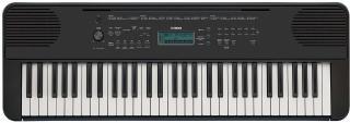 Yamaha PSR-E360 Keyboard s dynamikou Black