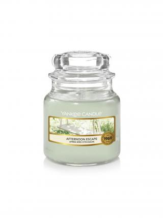 Yankee Candle vonná svíčka Afternoon Escape Classic malý zelená