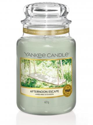 Yankee Candle vonná svíčka Afternoon Escape Classic velký zelená