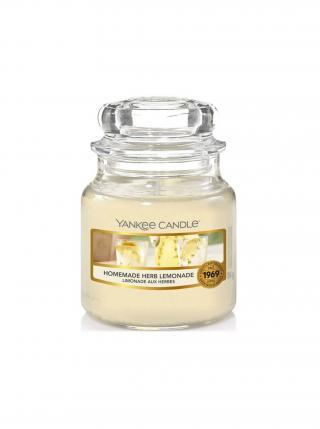 Yankee Candle vonná svíčka Homemade Herb Lemonade Classic malý žlutá
