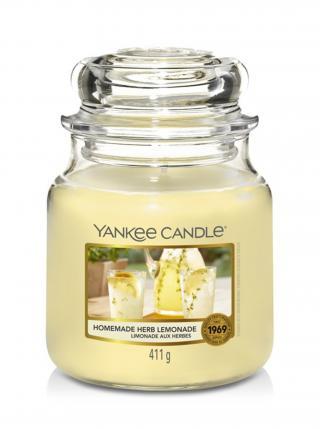 Yankee Candle vonná svíčka Homemade Herb Lemonade Classic střední žlutá