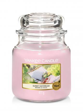 Yankee Candle vonná svíčka Sunny Daydream Classic střední růžová