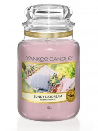 Yankee Candle vonná svíčka Sunny Daydream Classic velký růžová