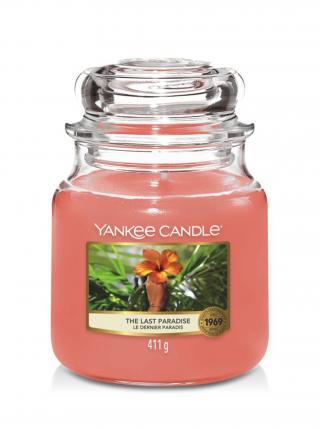 Yankee Candle vonná svíčka The Last Paradise Classic střední růžová