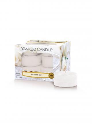 Yankee Candle vonné čajové svíčky Wedding Day bílá