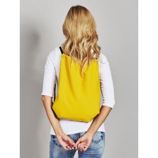 Yellow canvas bag backpack Neurčeno
