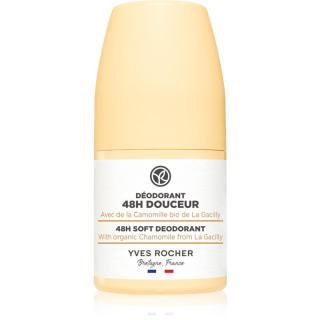 Yves Rocher 48 H Soft deodorant roll-on pro jemnou a hladkou pokožku 50 ml dámské 50 ml