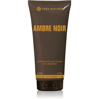 Yves Rocher Ambre Noir sprchový gel na tělo a vlasy pro muže 200 ml pánské 200 ml