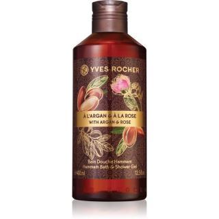 Yves Rocher Argan & Rose relaxační koupelový a sprchový gel 400 ml dámské 400 ml