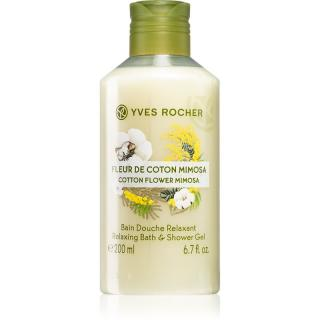 Yves Rocher Cotton Flower Mimosa sprchový gel 200 ml dámské 200 ml