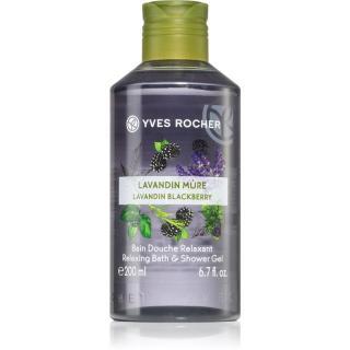 Yves Rocher Lavandin & Blackberry relaxační sprchový gel 200 ml dámské 200 ml