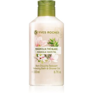 Yves Rocher Magnolia White Tea sprchový gel 200 ml dámské 200 ml