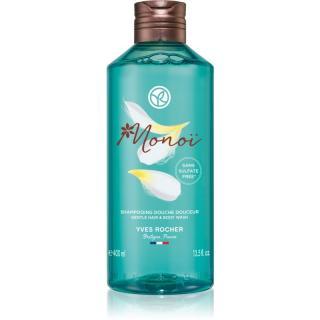Yves Rocher Monoi de Tahiti sprchový gel na tělo a vlasy 400 ml dámské 400 ml