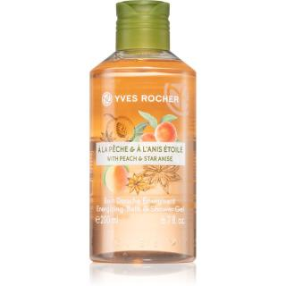 Yves Rocher Peach & Star Anise energizující sprchový gel 200 ml dámské 200 ml