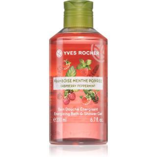 Yves Rocher Raspberry & Mint energizující sprchový gel 200 ml dámské 200 ml