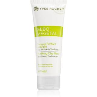 Yves Rocher Sebo Végétal čisticí jílová pleťová maska 75 ml dámské 75 ml