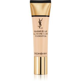 Yves Saint Laurent Touche Éclat All-In-One Glow tekutý make-up SPF 23 odstín B10 Porcelaine 30 ml dámské 30 ml