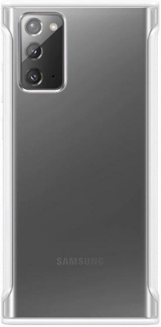 Zadní ekologický kryt Clear Protective Cover pro Samsung Galaxy Note20, bílá