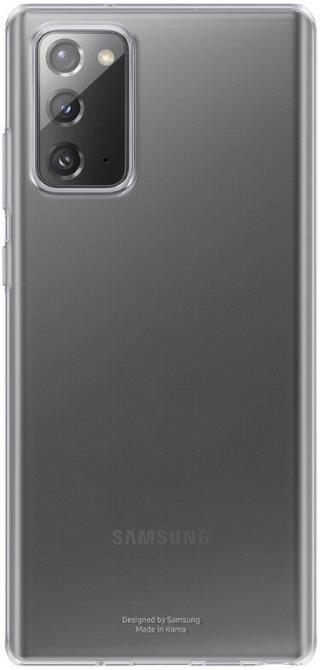 Zadní ekologický kryt Clear Protective Cover pro Samsung Galaxy Note20 EF-GN980CBEGEU, černá