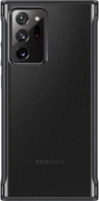 Zadní ekologický kryt Clear Protective Cover pro Samsung Galaxy Note20 Ultra EF-GN985CBEGEU, černá